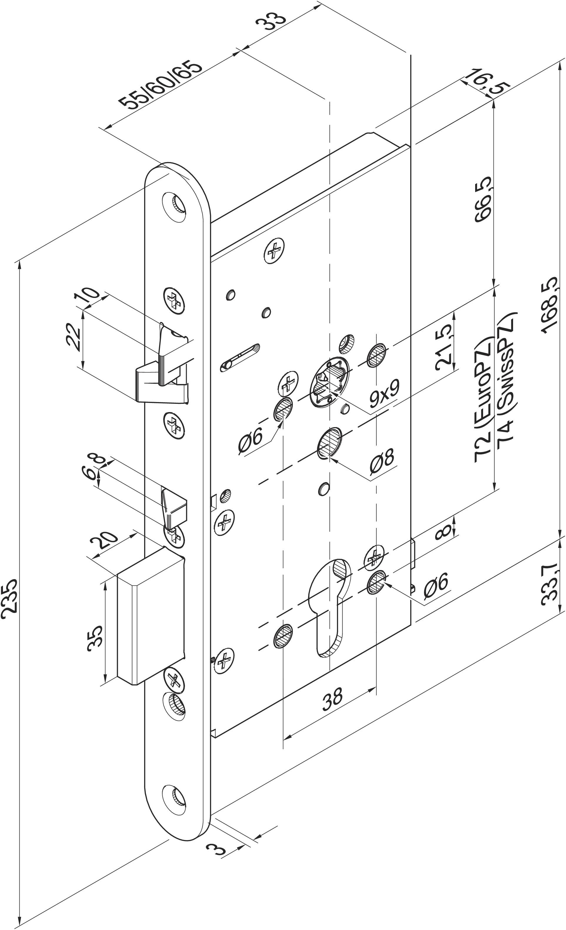 Effeff Produktbereiche Sicherheitsschloss Mikroschalter Assa Abloy Wiring Diagrams 409x502pz