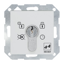 Flush-mounted key switch